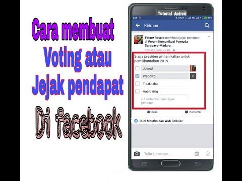 Cara membuat voting di facebook