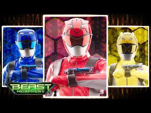 Power Rangers Beast Morphers Morph Sequence | Power Rangers vs Needletron | Episode 3