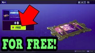 HOW TO GET STARRY FLIGHT GLIDER FOR FREE! (Fortnite Old Gliders)