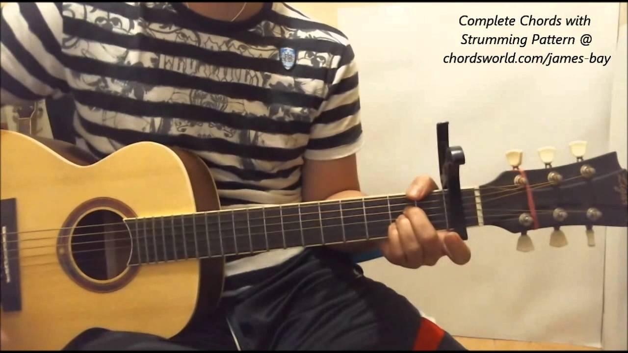 James Bay Craving Chords Youtube