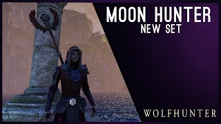 Moon Hunter Set Light Armor - Wolfhunter DLC ESO