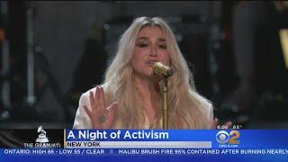 Politics, Activism Also Take Stage At Grammy Awards