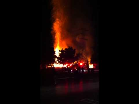 Fire after Ben Horowitz talk at Microsoft in Mountain View