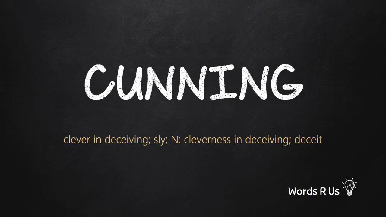 How to Pronounce CUNNING in American English