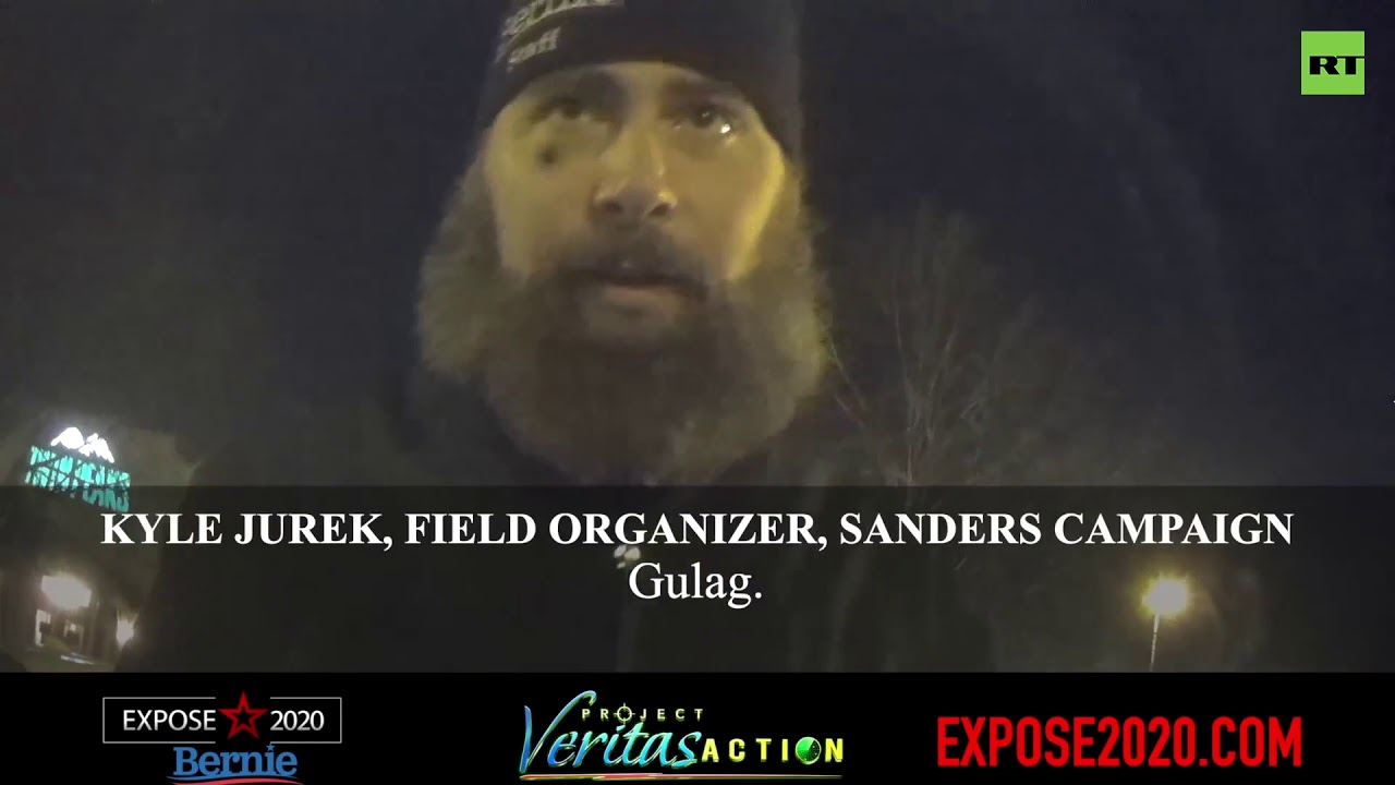 Project Veritas released video of Sanders' field organizer ranting about burning cities