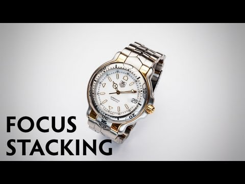 Focus Stacking in Product Photography