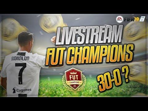LIVE: FUT CHAMPIONS RUMO AO 30-0! SERÁ QUE É DESTA?!