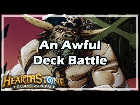 [Hearthstone] An Awful Deck Battle