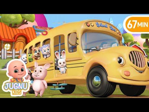 Bingo | Wheels on the bus | Nursery rhymes and baby songs by Jugnu Kids