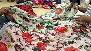 latest designer printed sari for wedding and bridal surat saree in wholesale price7
