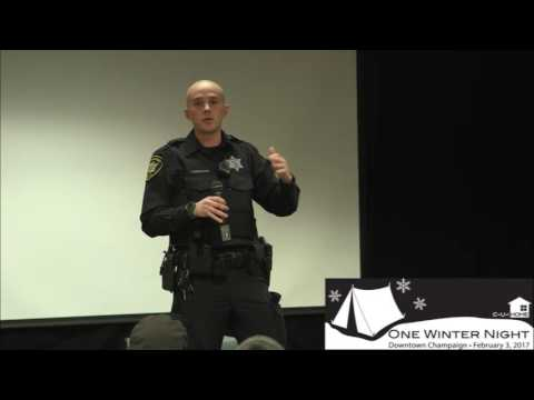 Law Enforcement and Homelessness - Champaign Police Department