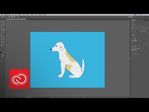 What's new in Illustrator CC - Puppet Warp (October 2017) - Adobe MAX 2017 | Adobe Creative Cloud