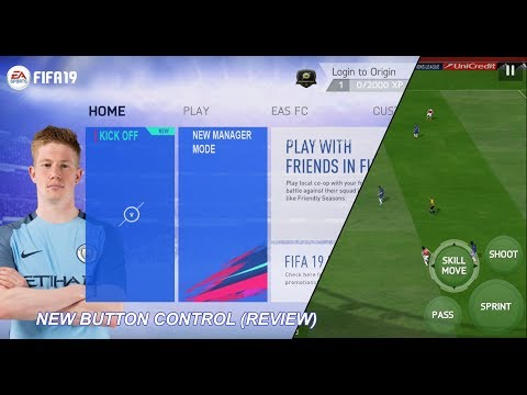 Game Android Offline FIFA 14 Mod FIFA 19 New Button Control (Review) - 동영상