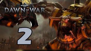 Прохождение Warhammer 40,000: Dawn of War III #2 - Рожденный для великих дел