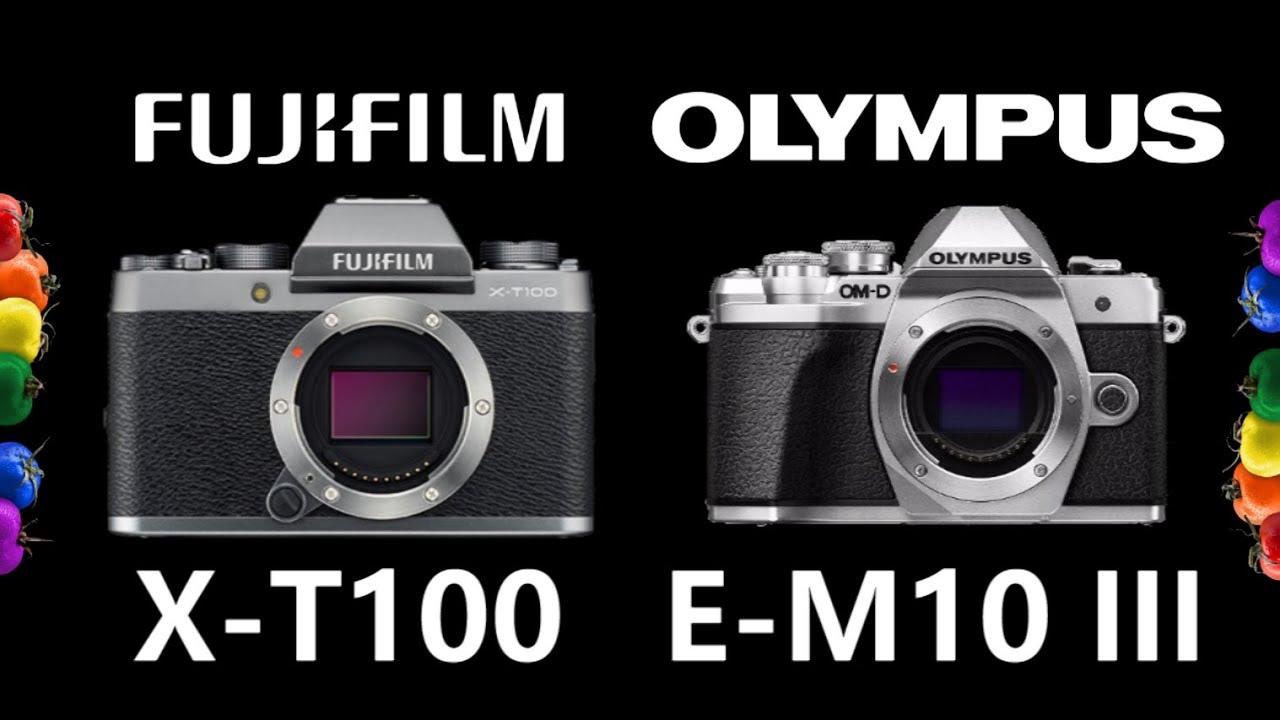 APS-C FUJIFILM X-T100 vs micro 4/3 OLYMPUS OM-D E-M10 Mark III
