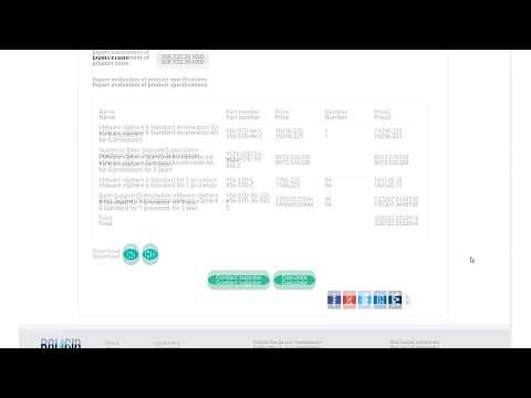 Automatic calculation of IT products price
