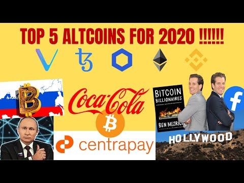 BIG NEWS !!! TOP 5 ALTCOINS FOR 2020 !!!   Buy Coca-Cola with Bitcoin   Hollywood Crypto Movie......