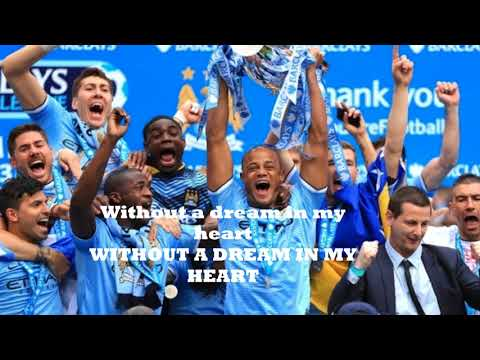 Blue Moon - Man City Anthem (with lyrics) [FULL HD]