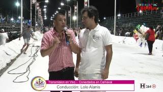 Carnaval de Concordia, Entre Rios 6° noche - Conectados En Carnaval