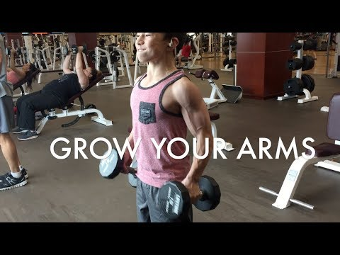 GET YOUR ARMS TO GROW ||  YEAR OLD BODYBUILDER