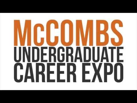 McCombs Undergraduate Career Expo | The University of Texas at Austin