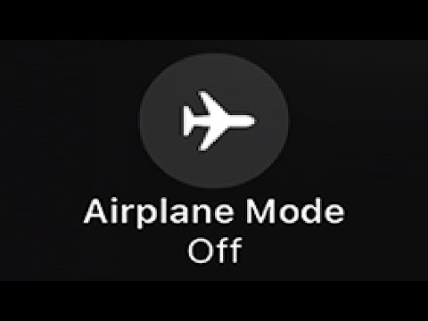 Turning off Airplane Mode during a Flight...