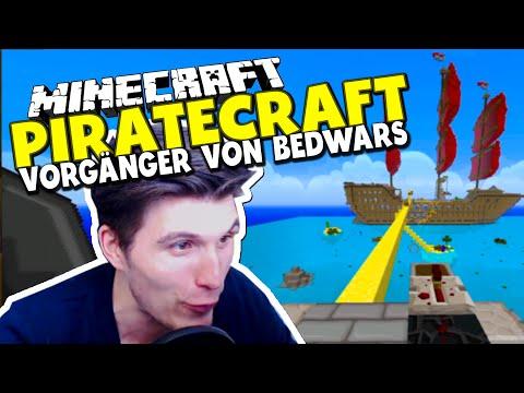 """EINE DER ERSTEN """" BEDWARS """" MAPS & MISSION IMPOSSIBLE TAKTIK! ✪ Minecraft Piratecraft   Paluten"""