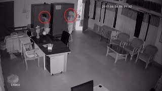 Ghost thief caught in Bangladesh - cctv ghost caught