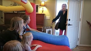 Giant Indoor Bounce House!