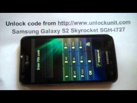 Unlock Samsung Galaxy S2 Skyrocket SGH-i727