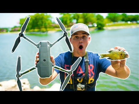 MICRO Fishing with DRONES!!! (Bad Idea)