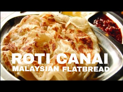 Roti Canai Recipe | Malaysian Flat Bread | iCookAsia