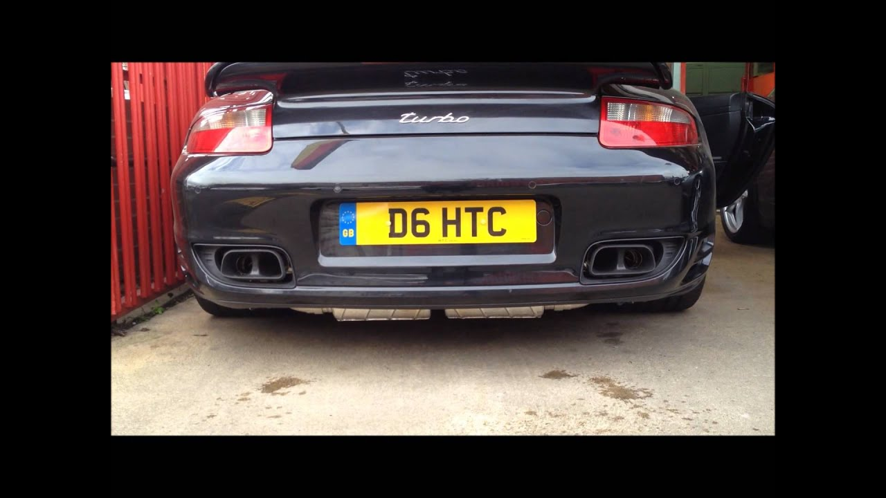 Capristo Sports Exhaust Porsche 911 Turbo 997 Scuderia