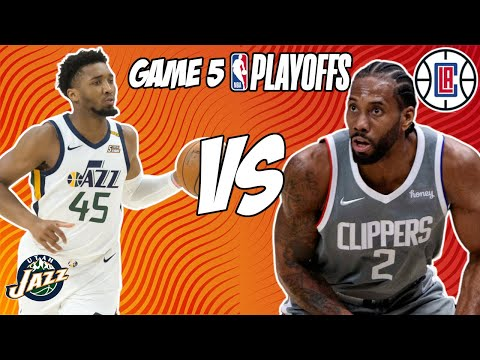Utah Jazz vs Los Angeles Clippers Game 5 6/16/21 NBA Playoff Free NBA Pick & Prediction