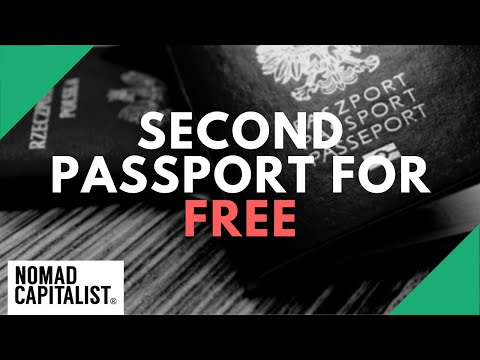How To Get A Second Passport For Free