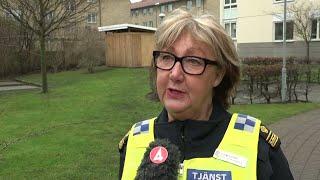Polisen om arbetet med tragedin i Bjärred - Nyheterna (TV4)