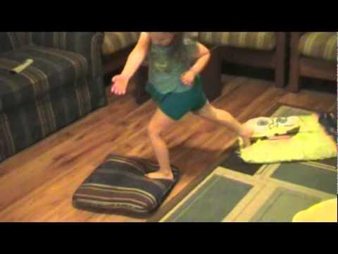 Game Ideas For Children Hot Lava Youtube