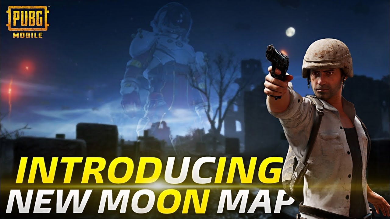 PUBG MOBILE NEW MOON MAP UPDATE | REAL OR FAKE?