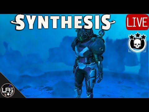 No Man's Sky Survival #70   Skybase Gas+ Factory & Weekend Event   Xaine's World Synthesis