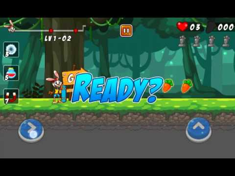 Bunny Skater | Android Game | Gameplay
