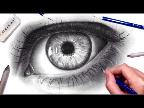 How to Draw a Realistic Eye | Drawing Tutorial with Graphite Pencils
