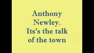 Watch Anthony Newley Its The Talk Of The Town video