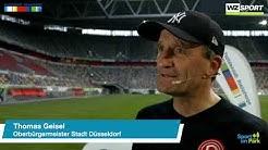 Sport im Park im Livestream mit Düsseldorfs Oberbürgermeister Thomas Geisel