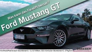 Ford Mustang GT (2018) - ist das Facelift wirklich besser als der Vorgänger? | DINNEBIER TV