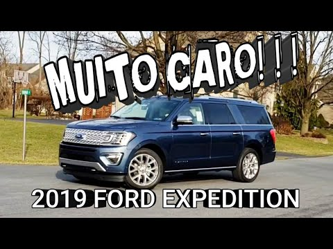 UM CARRO NOVO PARA ESPOSA. 2019 FORD EXPLORER PLATINUM OU EXPEDITION PLATINUM.