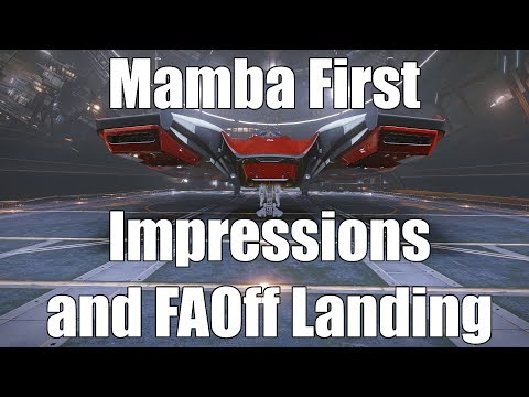 Elite: Dangerous - Mamba First Impressions and FAOff Landing