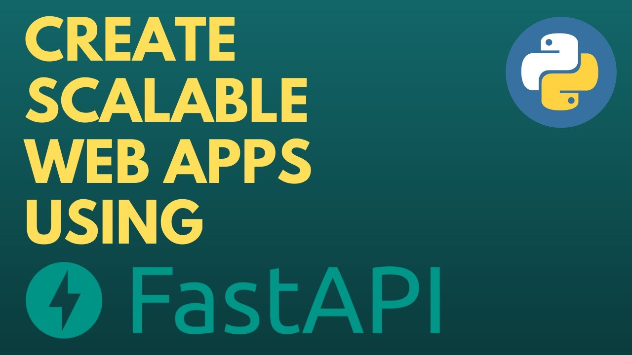 Building Web Apps using FastAPI and Python | Async APIs | OCR App