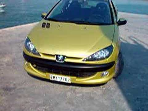 peugeot sport 206 project drive mag greece - youtube