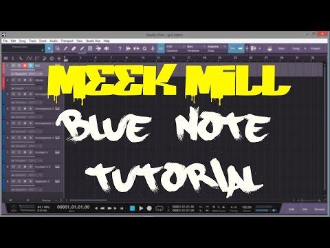 Meek Mill Blue Note | Presonus Studio One | Tutorial
