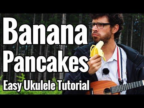 Jack Johnson Banana Pancakes Ukulele Tutorial With Picking In D
